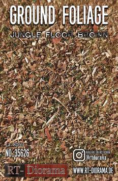 Ground Foliage: Jungle Floor broun