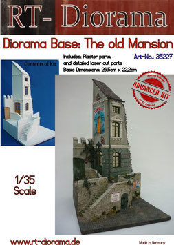 "Diorama-Base: ""Old Mansion"""
