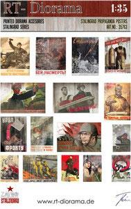 Printed Accessories: Stalingrad Propaganda Posters