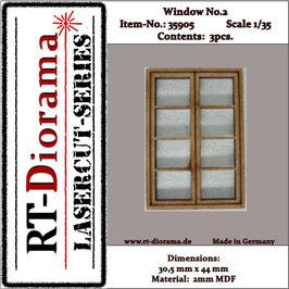 Window No. : 2 (3 pcs)