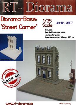 "Diorama-Base: ""Street Corner"""