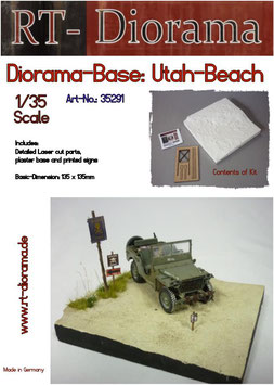 "Diorama-Base: ""Utah beach"""