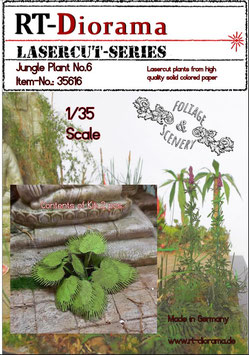 Foliage & Scenery: Jungle Plant No.6