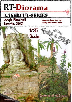 Foliage & Scenery: Jungle Plant No.8