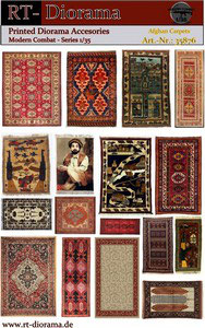 Printed Accessories: Afghan Carpets