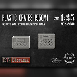 3D Resin Print: Plastic Crates (4pcs.)