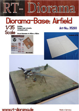 "Diorama-Base:  ""Airfield"""