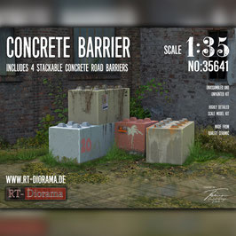 Concrete Barrier (4pcs.)