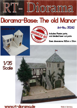 "Diorama-Base: ""Old Manor"""