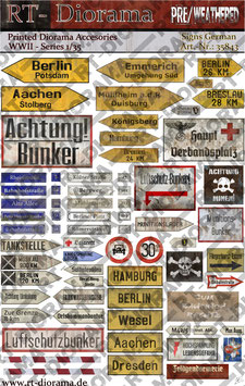 Printed Accessories: Signs Germany