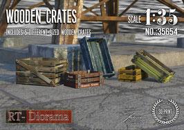 3D Resin Print: Wooden Crates