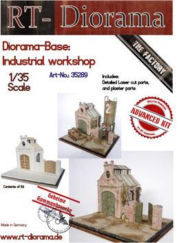 Diorama-Base: Industrial Workshop