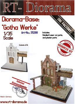 "Diorama-Base:  ""Gohta Werke"""