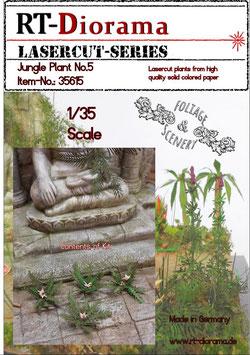 Foliage & Scenery: Jungle Plant No.5