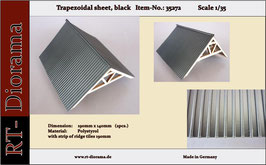 Trapezoidal sheet (black)