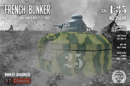 French Bunker with FT17 turret