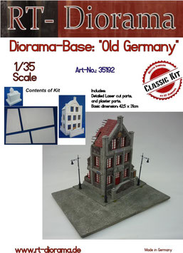 "Diorama-Base: ""Old Germany"""