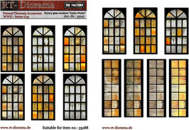 "Printed Accessories: Factory glass windows ""Gotha Werke"""