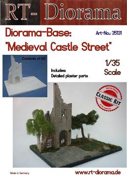 "Diorama-Base: ""Medieval Castle Street"" 1/35"