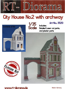 City House No.2 with archway