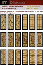 Printed Accessories: Lead-glass windows