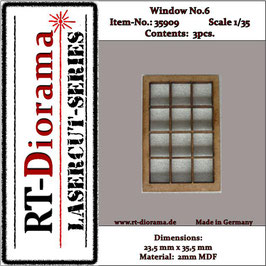 Window No. : 6 (3 pcs)