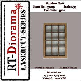 Window No. : 6 (3 pcs)