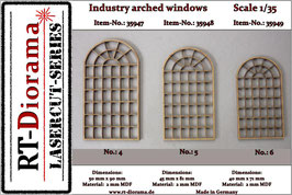 Industry arched windows No.4-No.6