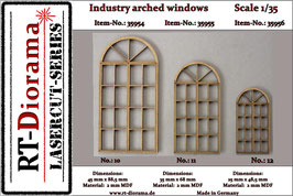 Industry arched windows No.10-No.12