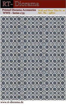 Printed Accessories: Wall and Floor Tiles Nr.16