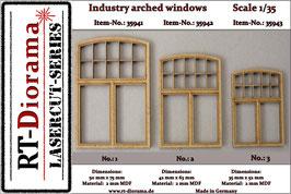 Industry arched windows No.1-No.3
