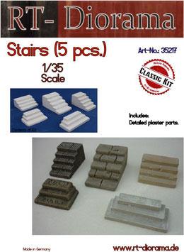 Stairs (5 Stück)