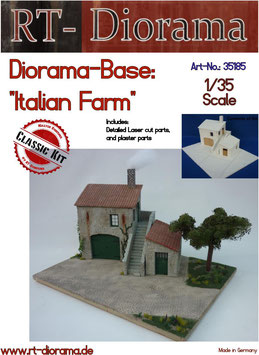 "Diorama-Base: ""Italian Farm"""