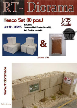 Hescos Set (10 pcs)