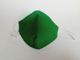 Mask emerald green