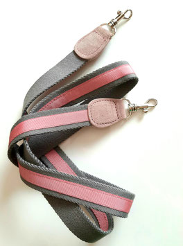 Strap Miniature Grey / rose