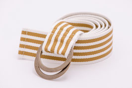 Stripe Edition  Beige / White
