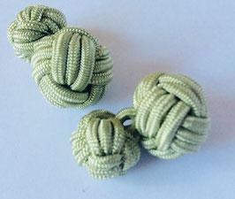 Silk knots - sage