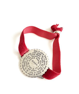 Ave Maria silver / red