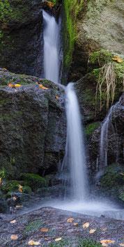 """Wetterfester Insektenschutz - Vorhang mit Motiv """"Wasserfall 2"""""""