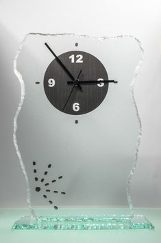 Glasuhr Urban-Clock