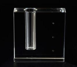 Vase - Designerstück - Glasblock