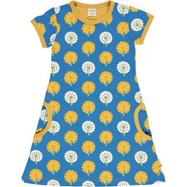Maxomorra Dress SS Dandelion