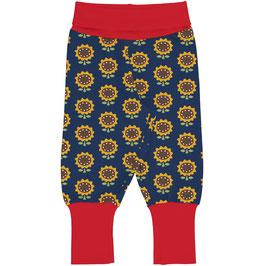 Maxomorra Pants Rib Sunflower