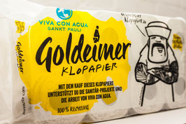 Goldeimer Toilettenpapier