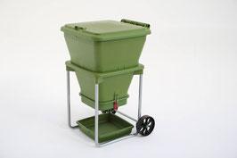 Die hungrige Wurmtonne (hungry bin)