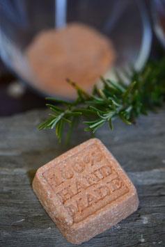 Festes Shampoo für fettiges Haar Geranium-Palmarosaöl (Naturkosmetik)