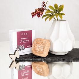 Festes Shampoo Geranium-Palmarosa - fettiges Haar