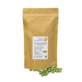 Moringa Tabletten 500mg 500 Stk in wieder verschließbarer Tüte