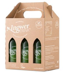 IngwerTRINK 6er-Tragerl